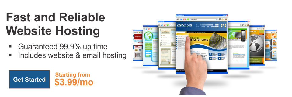 Fast and Reliable Web Site Hosting.